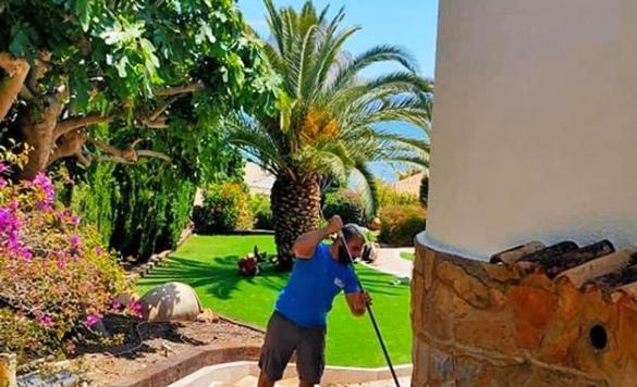 limpiar suelo terraza exterior