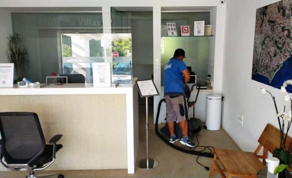 limpieza de moquetas oficinas