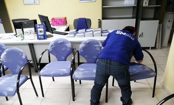 limpieza y desinfeccion sillas 3