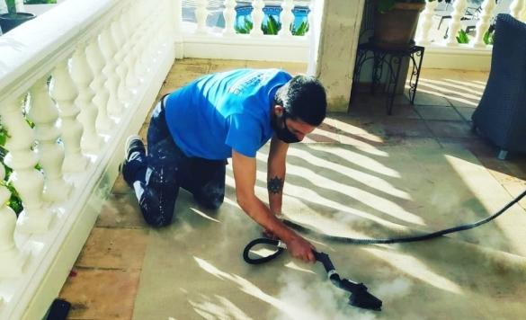 limpiar alfombra con vapor en calpe