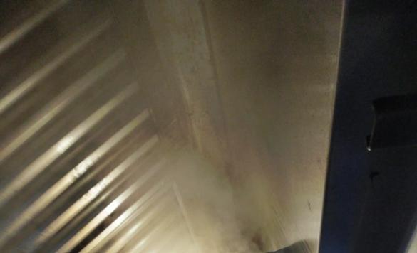 limpieza a vapor de cocinas