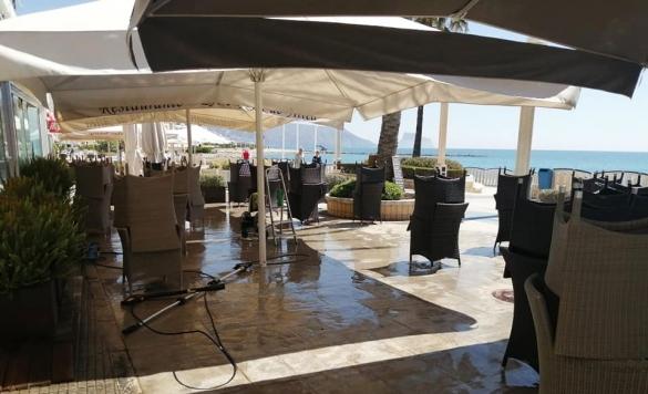 limpieza terraza rest maja 1