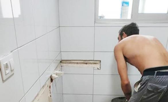 cambio de lavabo bano calpe