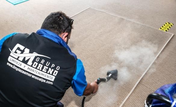 limpieza profesional alfombras