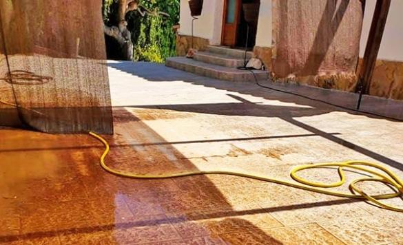 limpiar suelo de terraza alicante