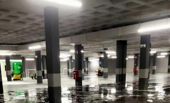 limpieza de grandes aparcamientos en calpe