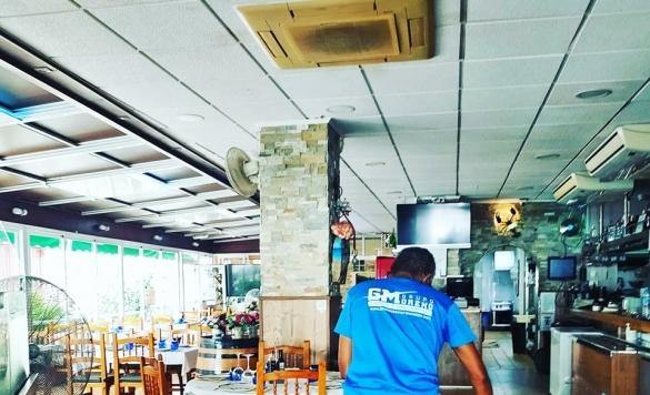 limpieza interior de restaurantes calpe