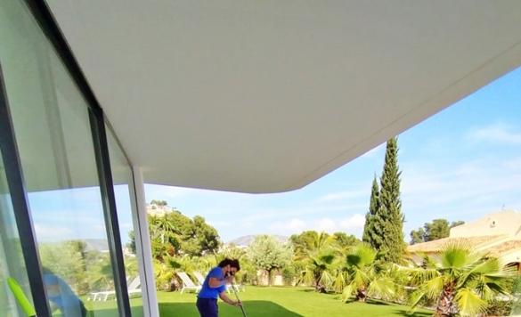 limpiar patio exterior altea hills
