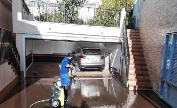 limpieza terraza altea 1