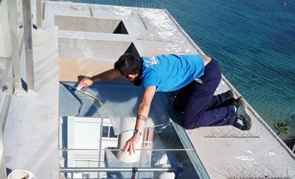 limpieza ventanas techo