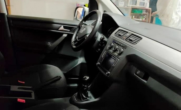 lavado interior de coche