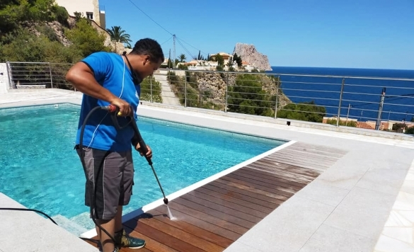 limpieza de terraza en marina alta 4