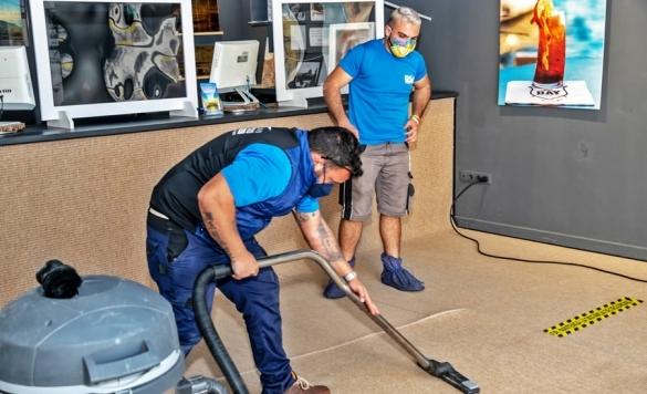 servicios limpieza alfombras