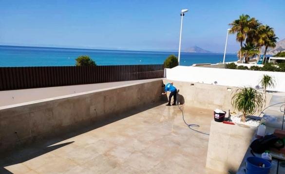 limpieza de piscina en obra 3