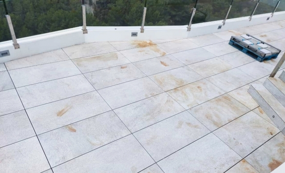 limpieza terrazas con oxidos 3