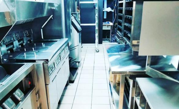 limpieza mcdonalds cocina 3