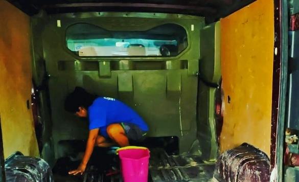 lavado de furgonetas en calpe