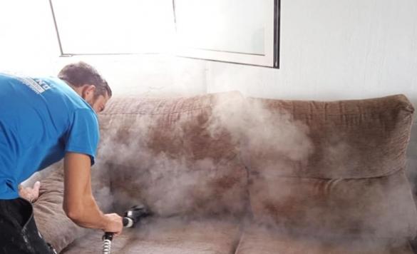 limpieza a vapor de todo tipo de sofas