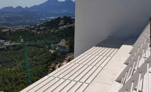 limpieza terraza altea hills 1 despues