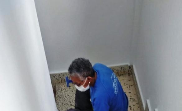 limpieza escaleras comunidad