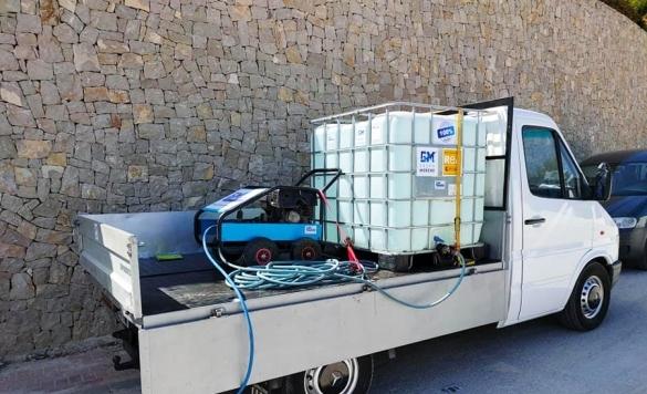 hidrolimpiadora de presión autónoma 1