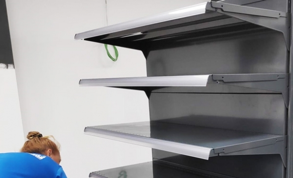 limpieza estanterias calpe