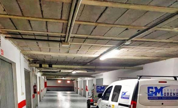 limpiar suelo parking en alicante