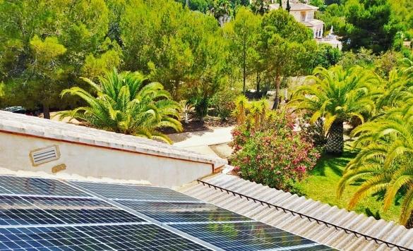 limpieza de placas solares calpe
