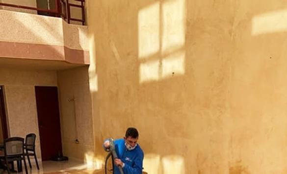 limpieza de terraza hidrolimpiadora