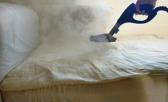 limpieza a vapor textiles