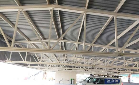 limpieza techos grandes superficies 8