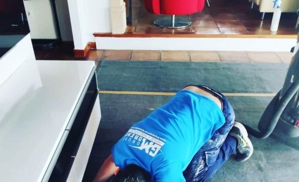 limpieza a vapor alfombras en calpe