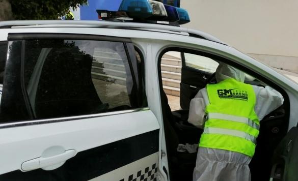 desinfeccion coche policia 4