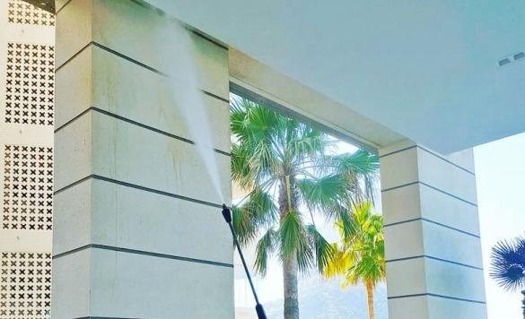 limpieza fachadas comunidades calpe