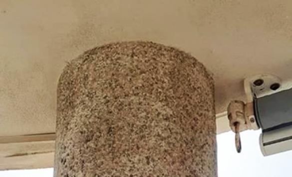 limpieza pared de piedras 1