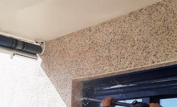 limpieza pared de piedras 3