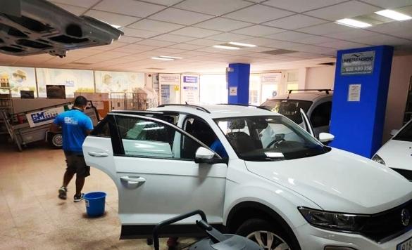 limpieza profesional de vehiculos calpe
