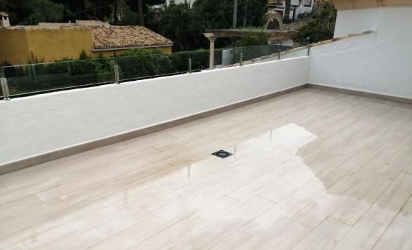 limpieza terraza chalet moraira 4