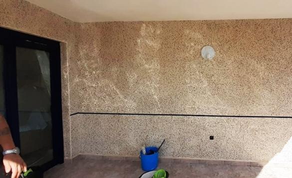 limpieza pared de piedras 2