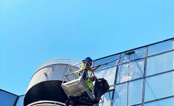 limpieza de ventanas en altura calpe