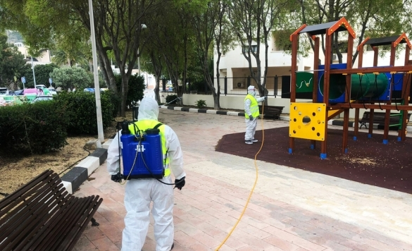 desinfeccion coronavirus parque21