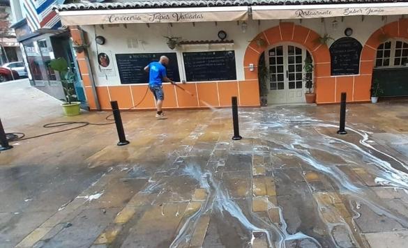 limpieza terraza javea 2