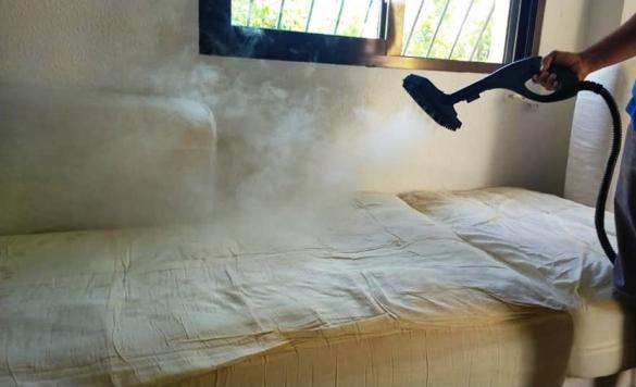 limpieza a vapor textiles calpe