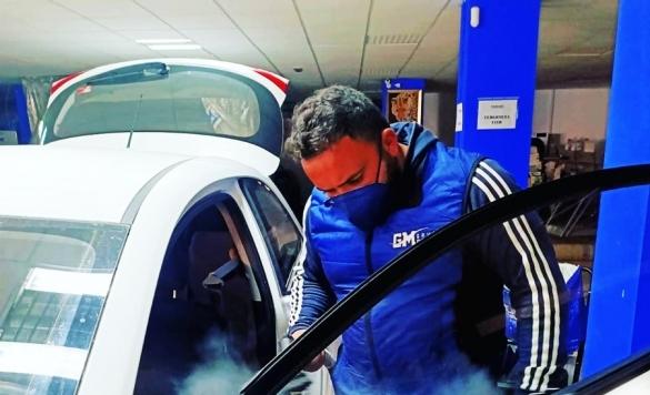 lavado profesional de autos