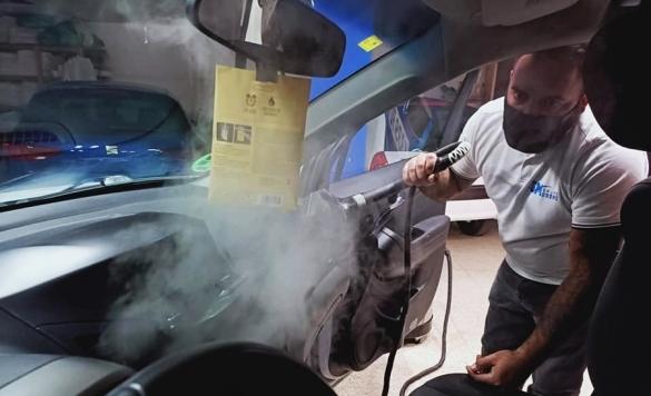 lavado de autos a vapor calpe