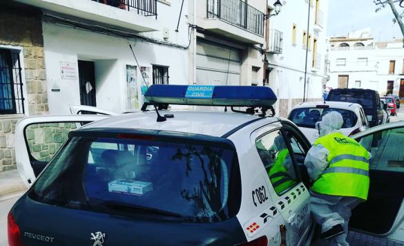 desinfeccion coche policia3