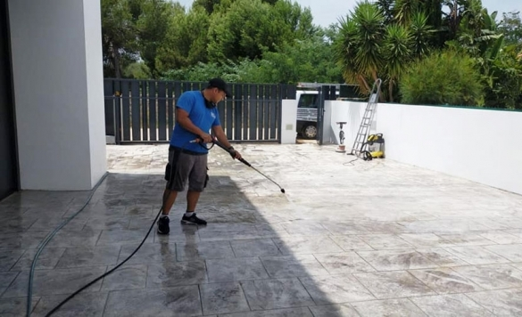 limpieza completa de chalet 15