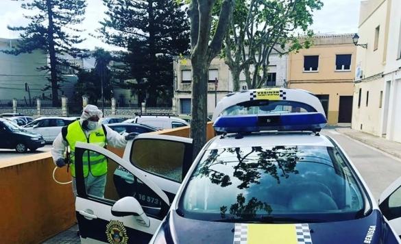 desinfeccion coche policia2