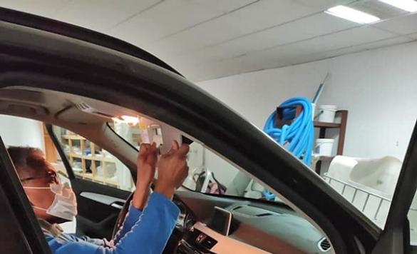 lavado de interiores de autos
