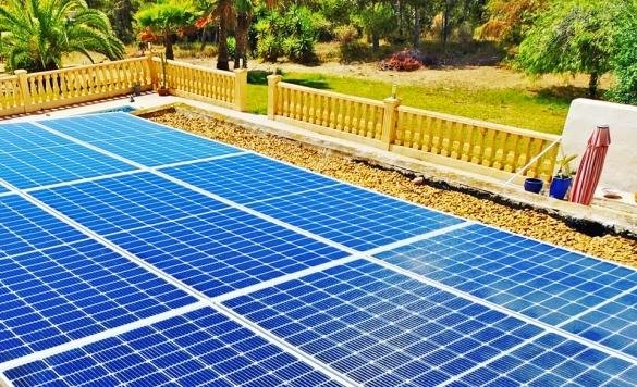 limpieza de paneles solares calpe
